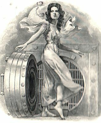 LOT OF 10 N. CAROLINA BANK STOCKS w SEXY LADY in VAULT! WAS PLANTERS BK EST 1899