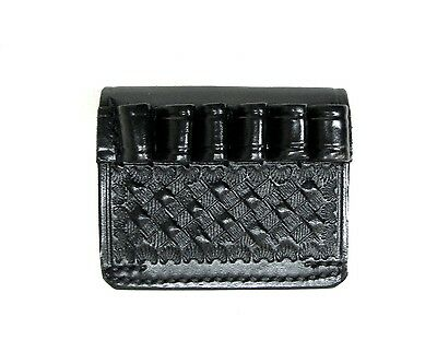 Leather Cartridge Carrier 38 357