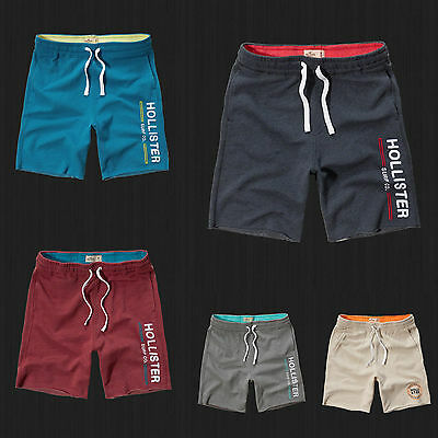 NWT Hollister HCO Athletic Shorts Fleece Gym Sweat Jogger Short By Abercrombie