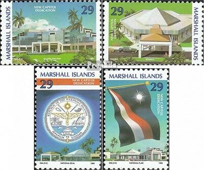 Marshall-Islands 477-480 unmounted mint / never hinged 1993 new Regierungszentru