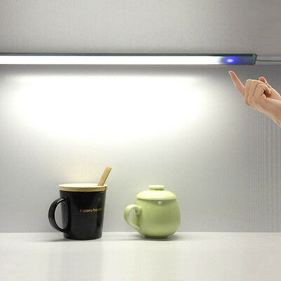 USB Desk Light Reading Lamp Touch Switch LED Bar operated Fixture 5V 10MA 6W Tab