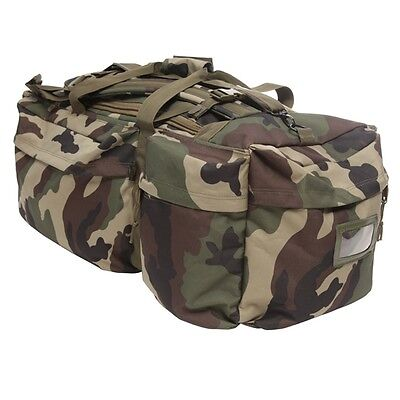SAC TAP BAROUD 100L ARES 7 POCHES CAMOUFLAGE MILITAIRE RANDONNEE COMMANDO