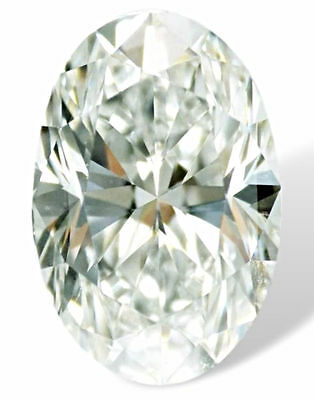 1.06 CT Loose 100% Natural Diamond F VVS2  Oval Brilliant Cut GIA Certified