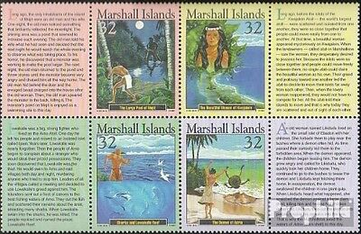 Marshall-Islands 865-868 eighth block unmounted mint / never hinged 1997 Locals