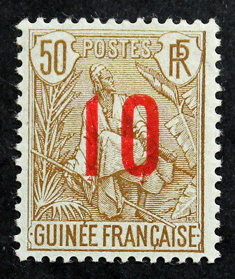Timbre GUINEE FRANCAISE / FRENCH GUINEA Stamp - YT n°62 n* (COL4)