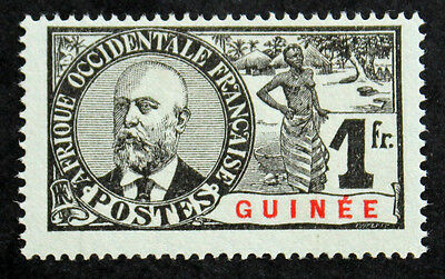 Timbre GUINEE FRANCAISE / FRENCH GUINEA Stamp - YT n°45 Nsg (COL4)