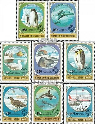 Mongolia 1336-1343 unmounted mint / never hinged 1980 Antarctic Research