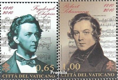 Vatican 1677-1678 unmounted mint / never hinged 2010 F. Chopin and R. Schuhmann