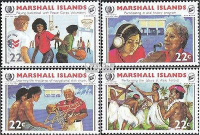 Marshall-Islands 54-57 unmounted mint / never hinged 1985 Year the Youth