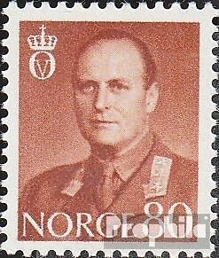 Norway 425 unmounted mint / never hinged 1958 King Olaf V.