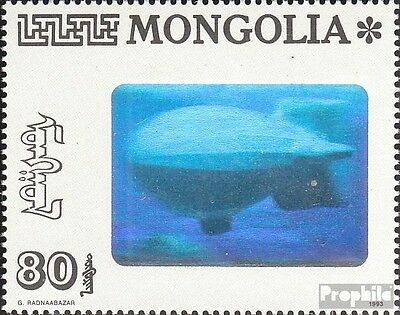 Mongolia 2482 unmounted mint / never hinged 1993 zeppelin ride
