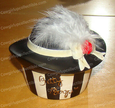 25891 - Feathered Hat Trinket Box (Betty Boop) Retired