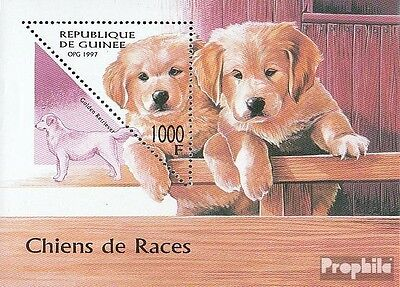 Guinea block514 unmounted mint / never hinged 1997 Dogs