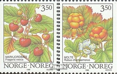 Norway 1204-1205 unmounted mint / never hinged 1996 Waldbeeren