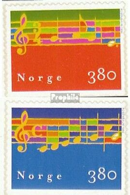 Norway 1297Du-1298Du unmounted mint / never hinged 1998 christmas