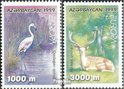 Aserbaidschan 442-443 unmounted mint / never hinged 1999 National