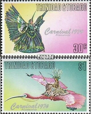 Trinidad and Tobago 337-338 unmounted mint / never hinged 1976 Carnival