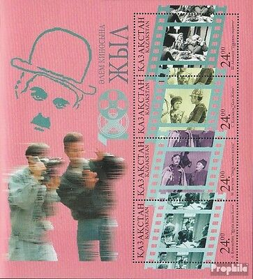 kazakhstan block8 unmounted mint / never hinged 1996 100 years Cinema