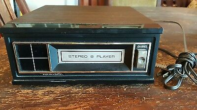 Vintage 1970's Realistic 8 Track Tape Player Component Works