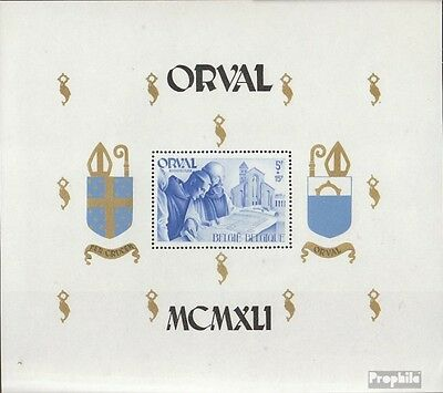 Belgium block12 unmounted mint / never hinged 1941 Orval