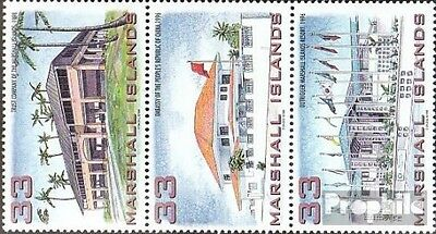 Marshall-Islands 1059-1061 triple strip unmounted mint / never hinged 1998 new B