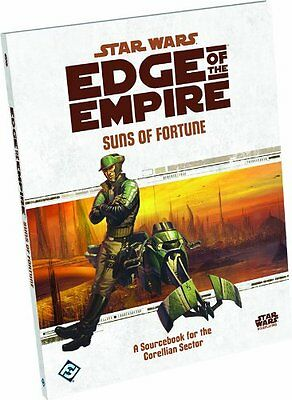 NEW Star Wars Edge of the Empire RPG: Suns of Fortune Sourcebook