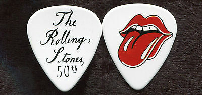 ROLLING STONES  Novelty Guitar Pick!!! 50th Anniversary #7