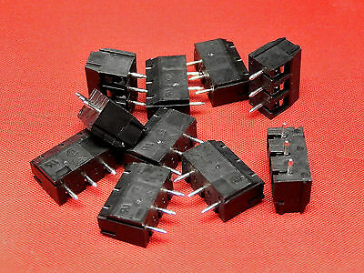 10x 3 WAY SCREW TERMINAL BLOCK TBV803AG TAICOM