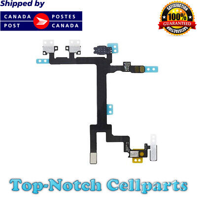 iPhone 5 5G Power and Mute Volume Control Button Switch Flex Cable