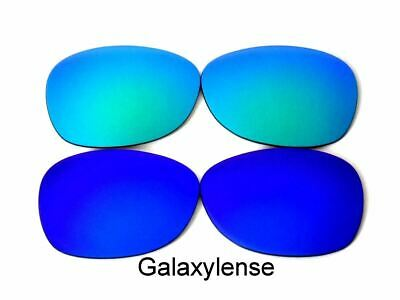 f6b2bb4bab2 Galaxy Replacement Lenses For Ray Ban RB2132 New Wayfarer Blue Green 52mm  2Pair