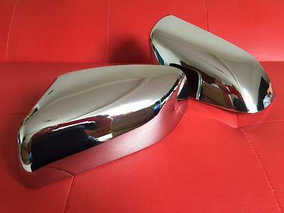 Land Rover Discovery 4  - Shiny Chrome Wing Mirror Covers Caps Disco 4 LR4