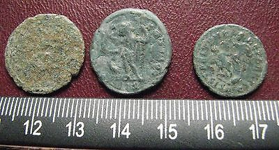 "Authetic Ancient Roman Coins   Lot of 3 ""HIGHEST"" Quality Coins  GB 17"
