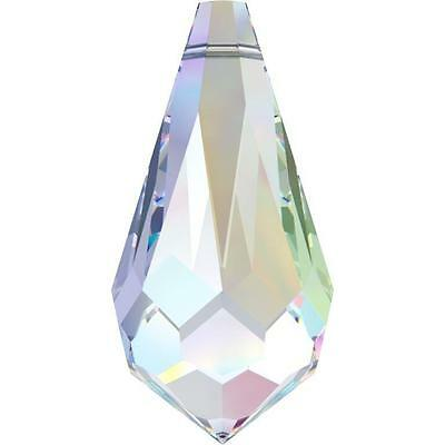 SWAROVSKI CRYSTAL TEARDROP PENDANT 11-28mm *6000 *CLEAR-AB ALL COLOURS WHOLESALE