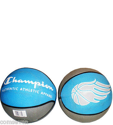 Pelota  Mini De Baloncesto Skill, Azul-Gris, Authentic Athletic Apparel