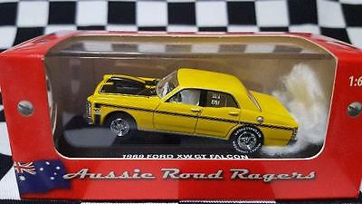 "1969 ""HELRZR""1:64th Yellow Ford Falcon GT Street Rod"