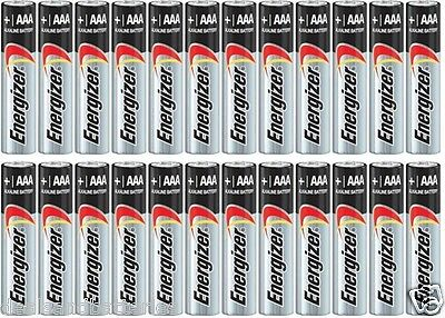 24 Energizer AAA E92 Max Alkaline Batteries Exp. 2027