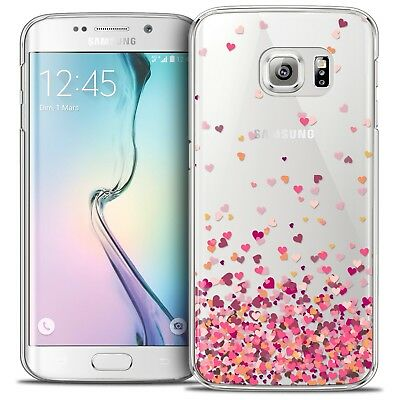Coque Crystal Galaxy S6 Edge Extra Fine Rigide Sweetie Heart Flakes