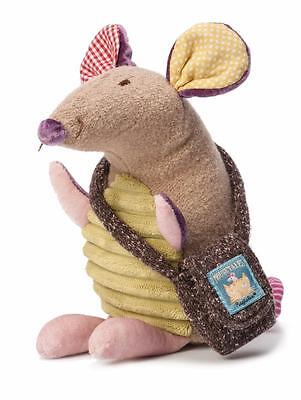 Ragtales Fairy Tales Tooth Fairy Doll Brown Boy Mouse Stitch Coin Pocket 316 New