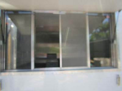 "Quality Concession Trailer Serving Window  size 33"" X 53"""