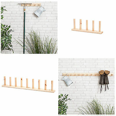 Wooden Wall Mounted Welly Racks Wall Hanging Wellington Boot Storage Wood Stand