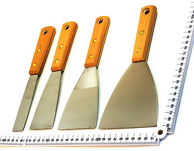 Wood Handle Paint Scraper Stainless Steel Trade Quality