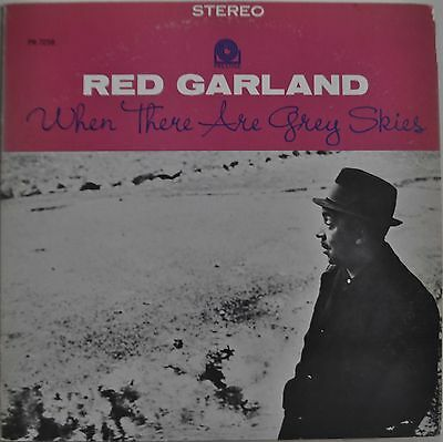 Red Garland When There Are Grey Skies Japan LP 1978 Victor SMJ-6582 Insert Promo