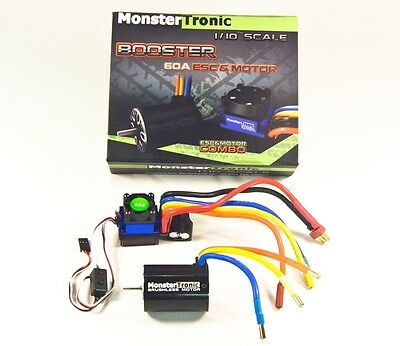 Monstertronic Brushless Combo Regler Motor 10T 3900KV #MT2309
