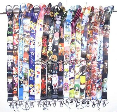 Lot Mixed Japanese anime mobile Phone lanyard Keychain straps charms U-33