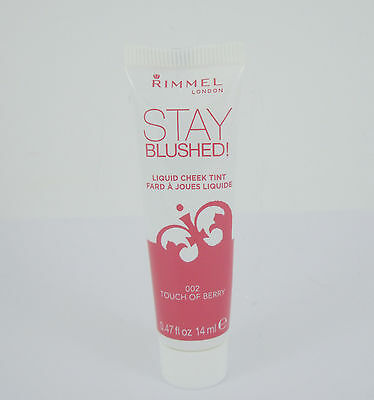 Rimmel Stay Blushed Liquid Cheek Tint - 002 Touch Of Berry
