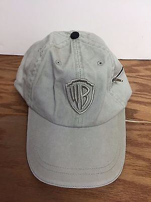 Warner Bros Pictures WB  Movie PROMO Adjustable Hat with zipper pouch