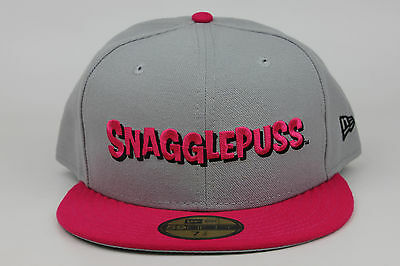 Snagglepuss Pink Panther Hanna Barbera Saturday Cartoon Gray Pink New Era Fitted