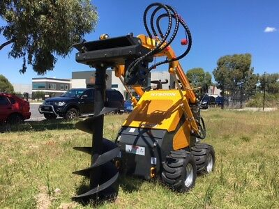 Mini Auger Drive 800mm depth rating suits mini diggers