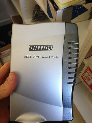 Billion Adsl Vpn Firewall Router Bipac-7402 With 3Des Accelerator