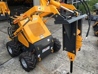 Hydraulic hammer / Rock breaker suit mini diggers & mini loaders